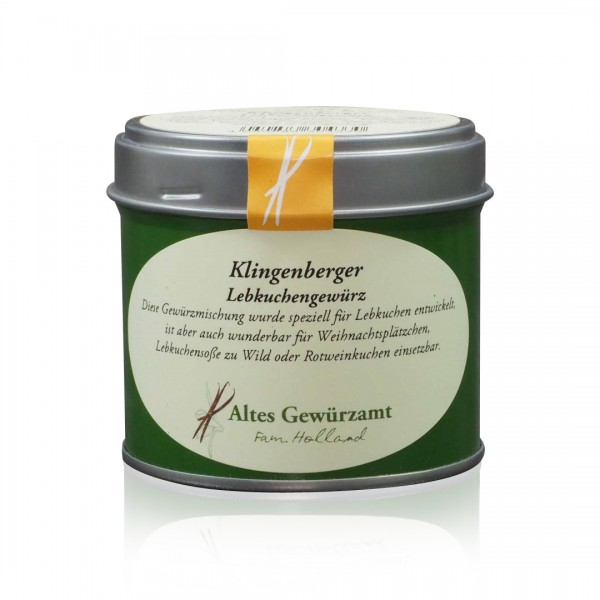 Klingenberger Lebkuchengewürz 65 g Dose mit Streueinsatz