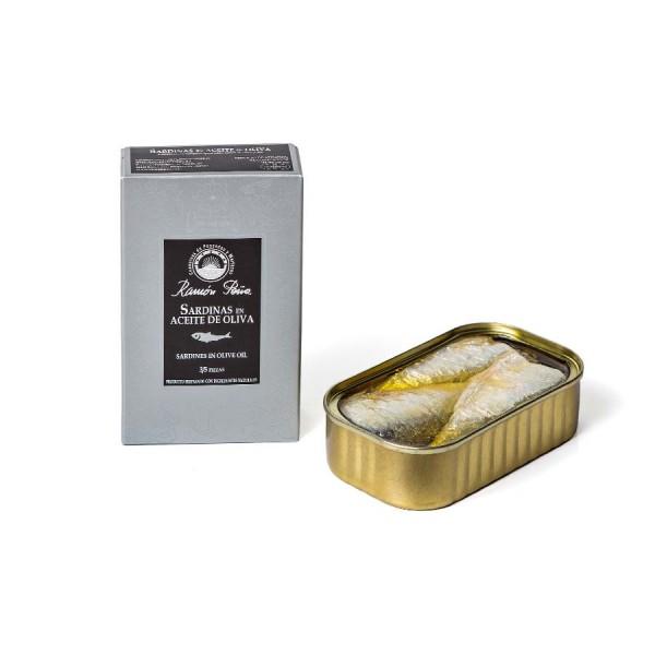 Sardinen in Olivenöl 3-5 Stk. 115 g Dose