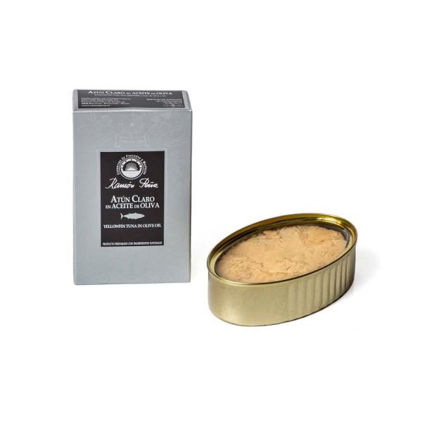 Gelbflossen Thunfisch-Filets in Olivenöl 110 g Dose