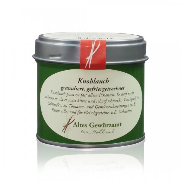 Knoblauch-Granulat gefriergetrocknet 40 g Dose