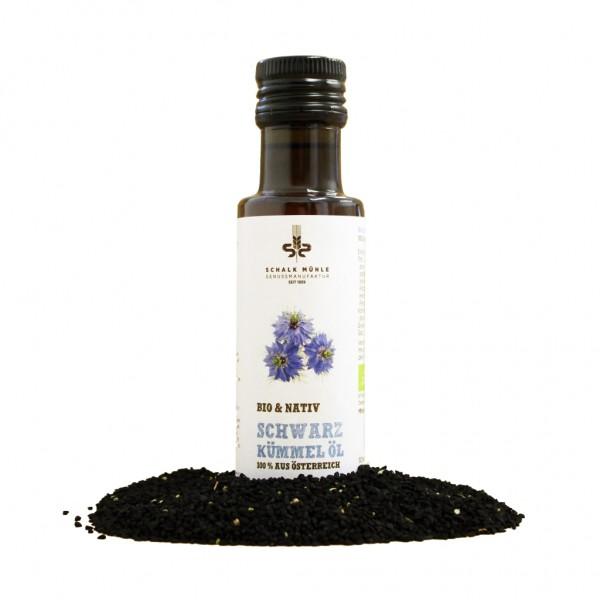 Schwarzkümmelöl nativ (bio) - 100 ml Flasche