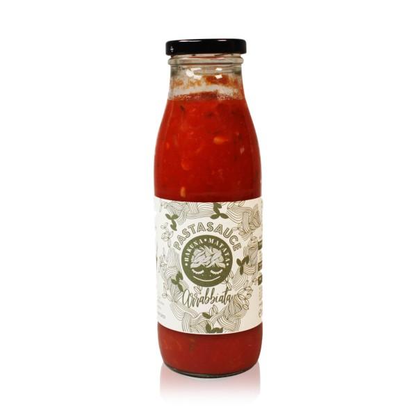 Pasta-Sauce Arrabbiata 500 g Flasche