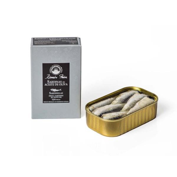 Sardinen in Olivenöl 12-16 Stk. 115 g Dose