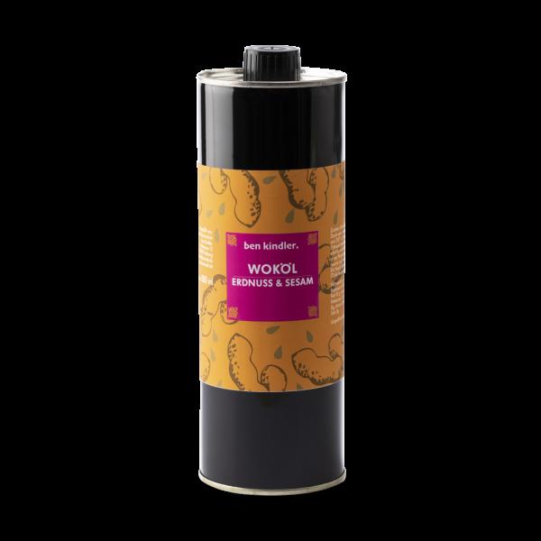 Bens Woköl Erdnussöl & Sesamöl 500 ml Dose