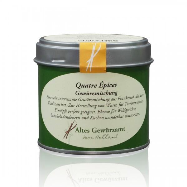 Quatre Épices Gewürzmischung 70 g Dose mit Streueinsatz