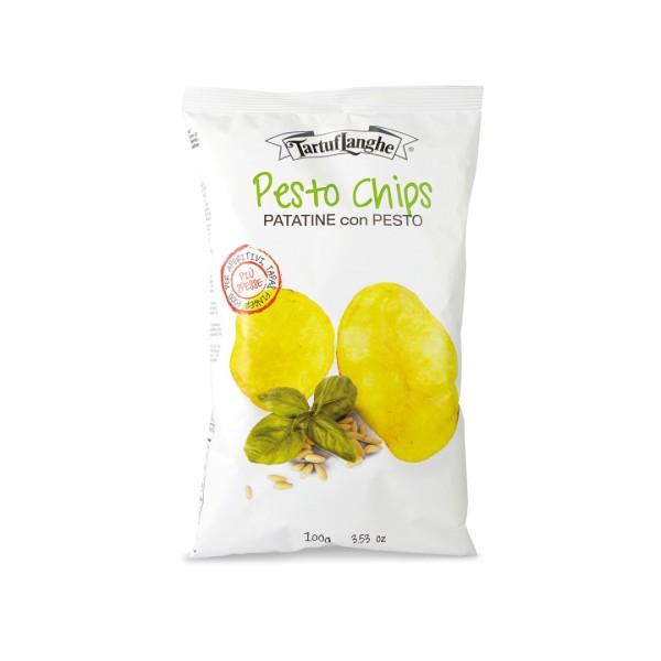 Kartoffelchips mit Pesto 100 g Tüte