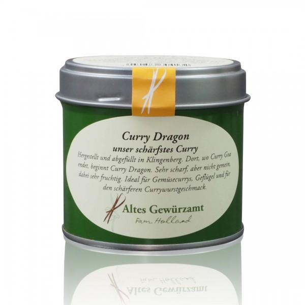 Curry Dragon Gewürzmischung - 70 Gramm Dose mit Streueinsatz