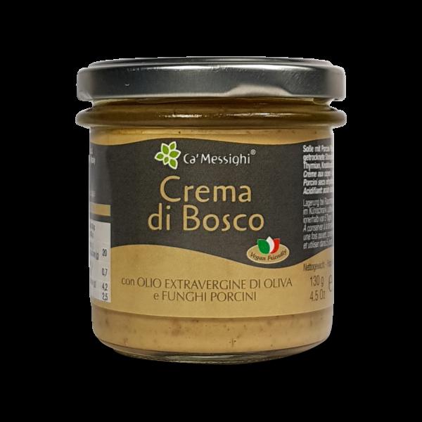 Crema di Bosco (Steinpilzcreme) 130 g Glas