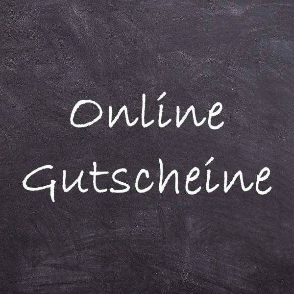 Gutschein für Onlineshop