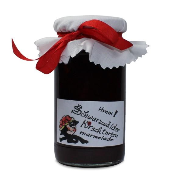 Schwarzwälder Kirschtorten Marmelade - 200 g Glas