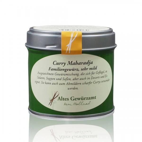 Curry Maharadja sehr mild - 70 g Aromadose