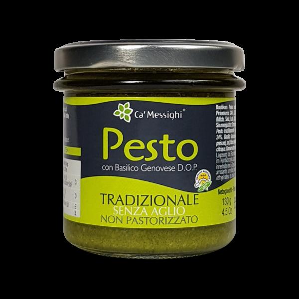 Pesto Tradizionale senz'aglio 130 g Glas