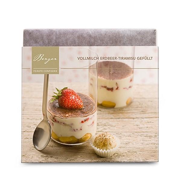 Vollmilch Erdbeer-Tiramisu (gefüllt)