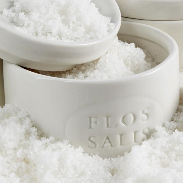 Flos Salis Keramik Salztopf (100 g)