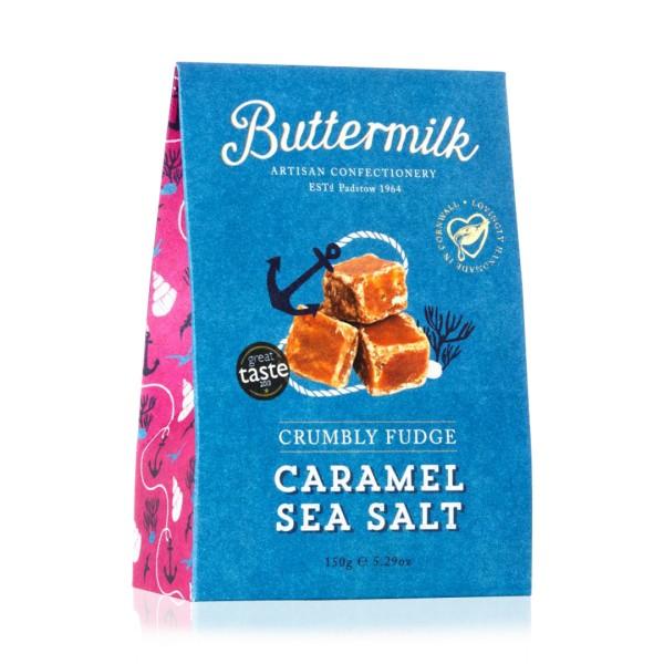 Caramel Sea Salt Fudge