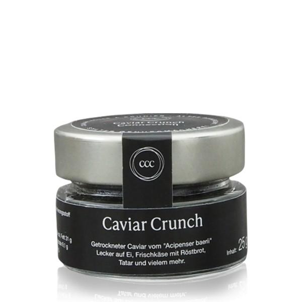 Caviar Crunch (getrockneter Kaviar) 25 g Glas