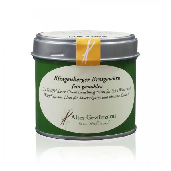 Klingenberger Brotgewürz 60 g Dose