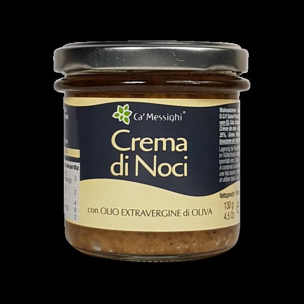 Crema di Noci (Walnusssauce) 130 g Glas