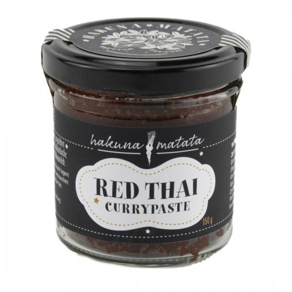 Red Thai Rote Currypaste scharf 150 g Glas