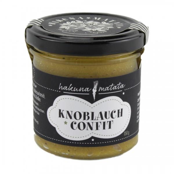 Knoblauch Confit 150 g Glas