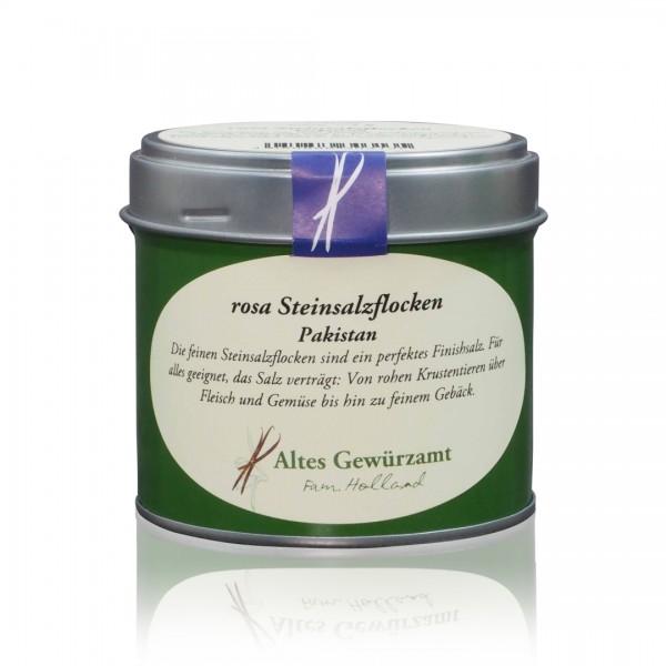 Rosa Steinsalzflocken - 75 g Dose