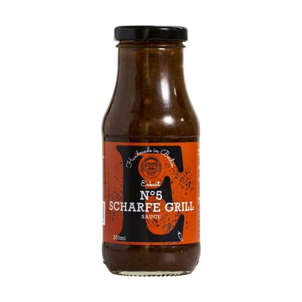 ECKART #5 Grillsosse scharf 250 ml Flasche