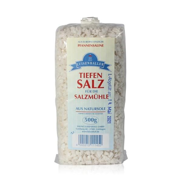 Luisenhaller Salzmühlen-Salz 500 g Beutel