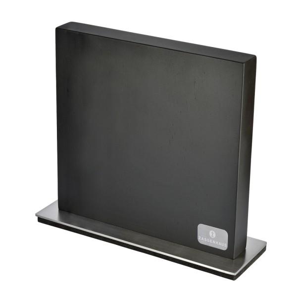 Magnet-Messerblock schwarz