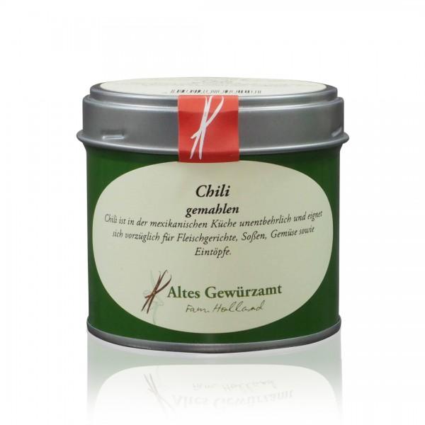 Gemahlener Chili (Cayennepfeffer) - 60 Gramm Dose mit Streueinsatz