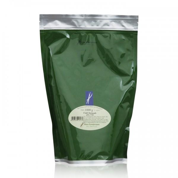Utah-Steinsalz fein 1 kg Beutel